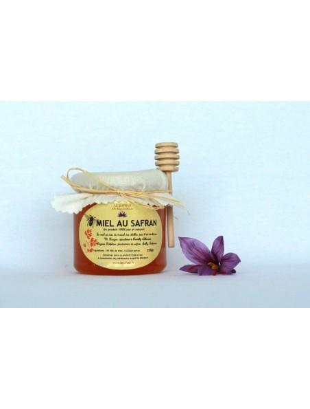 Miel au Safran - Apiculture ardennaise 250 grammes - Le Safran