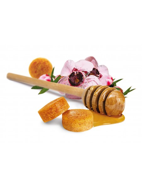Pastilles au miel de Manuka - Adoucissantes pour la gorge 20g - Comptoirs & Compagnies