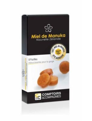 Pastilles au miel de Manuka - Adoucissantes pour la gorge 20g - Comptoirs et...