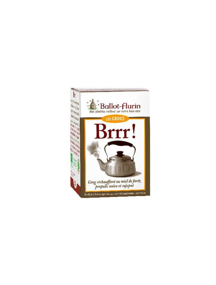 Brrr ! - Miel de forêt pour grog réchauffant 125g - Ballot-Flurin