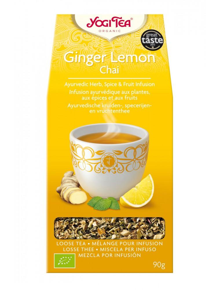Gingembre Citron - Chaï sucré et rafraîchissant 90g - Yogi Tea