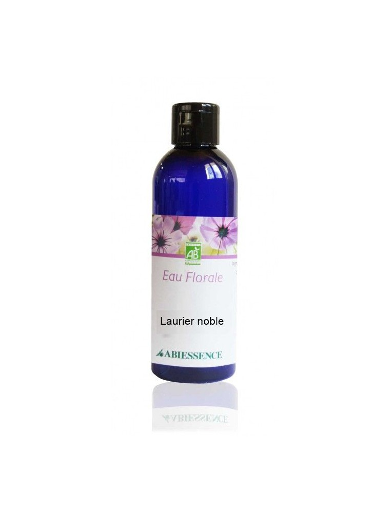 Laurier noble Bio - Hydrolat (eau florale) 200 ml - Abiessence