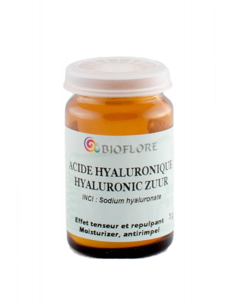 Acide hyaluronique - Puissant agent hydratant et repulpant 3g - Bioflore