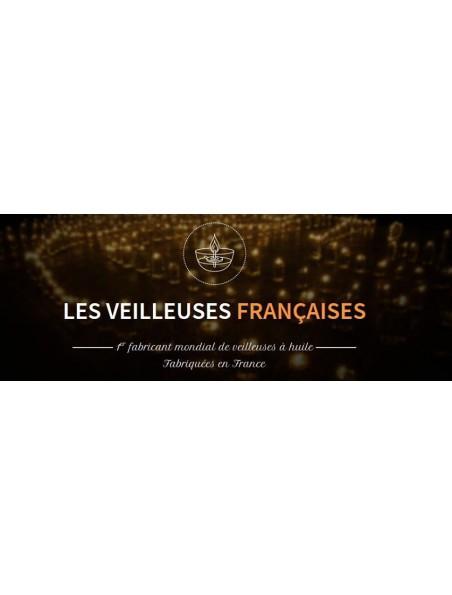 Huile végétale parfumée à la mandarine - Cabaret 1838 150 ml - Les Veilleuses Françaises