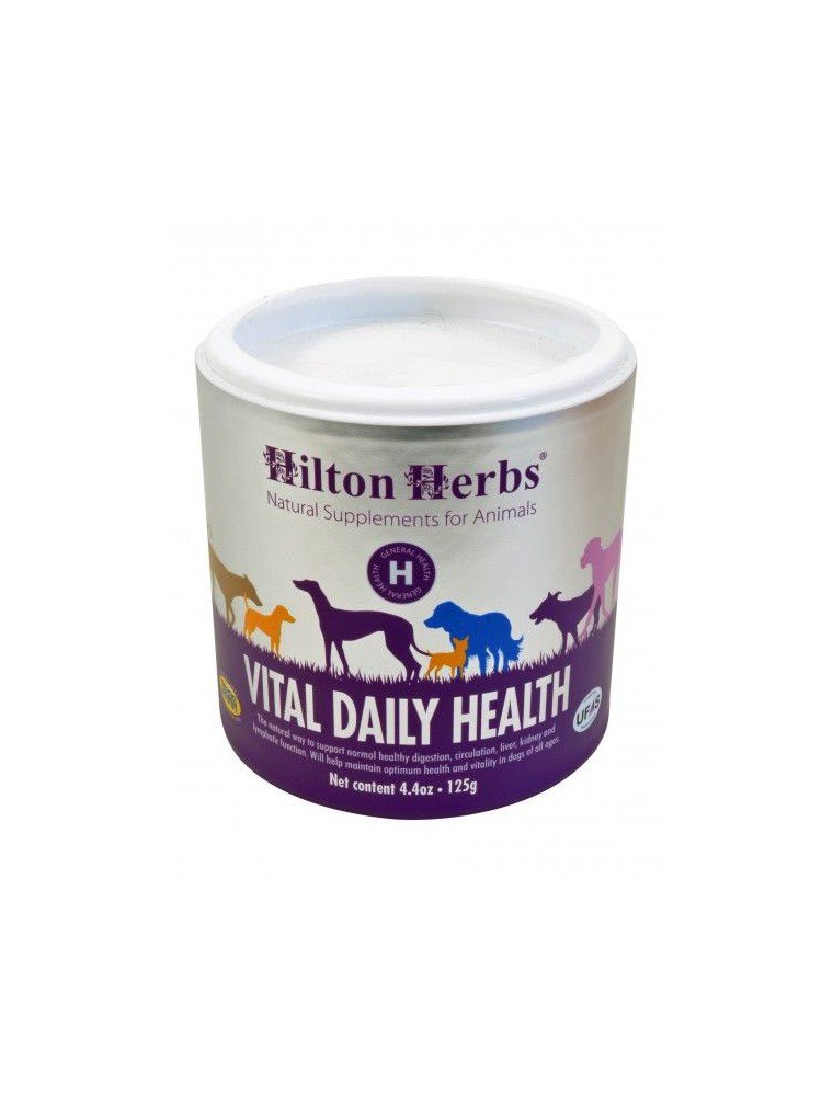 Vital Daily Health - Santé optimale du chien 125g - Hilton Herbs