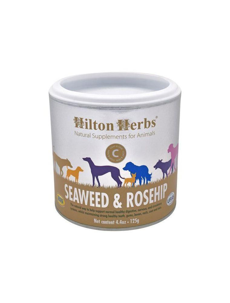 Seaweed et Rosehip - Algues et Cynorrhodon pour chien 125g - Hilton Herbs