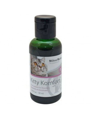 Kitty Komfort - Soutien des fonctions digestives des chats 50 ml - Hilton Herbs