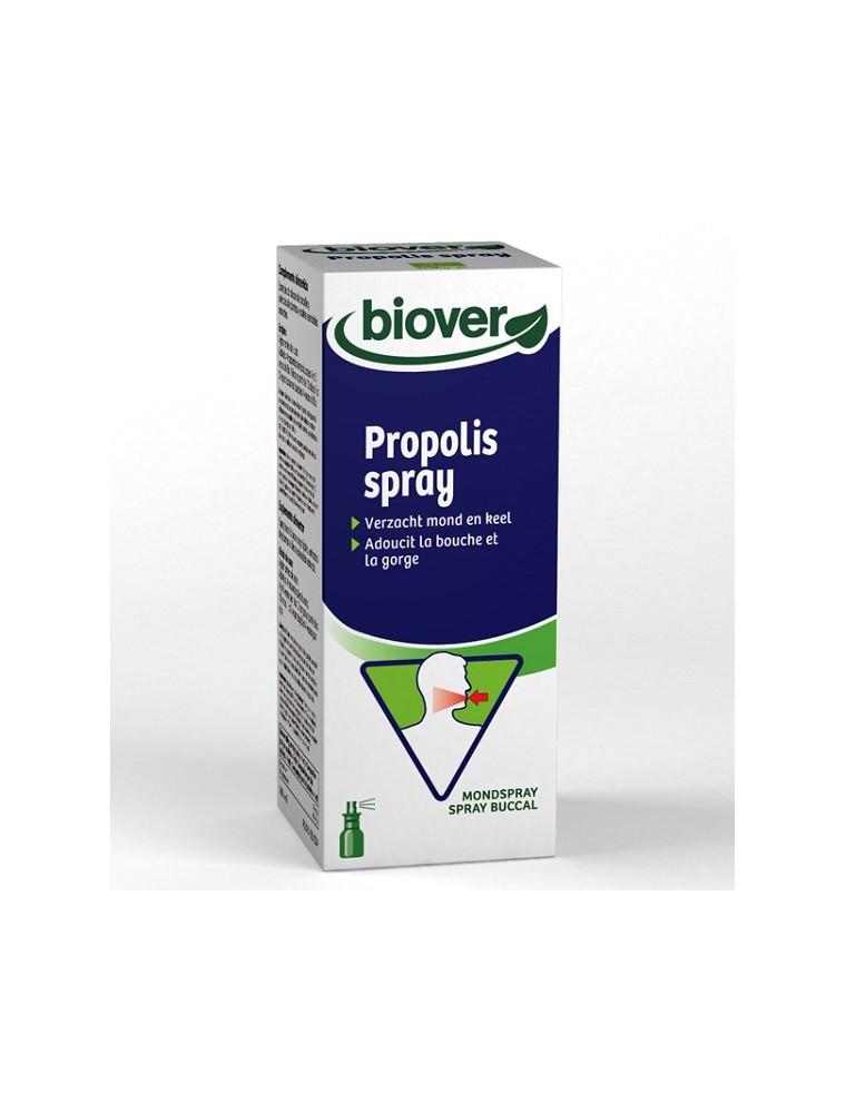 Spray Bio à la Propolis, aux plantes et aux huiles essentielles - Voies respiratoires 23 ml - Biover