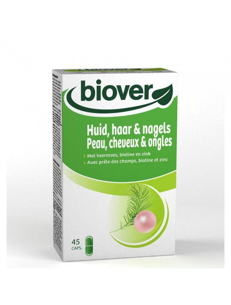 Peau, cheveux et ongles - Avec de la prêle et du zinc 45 comprimés - Biover