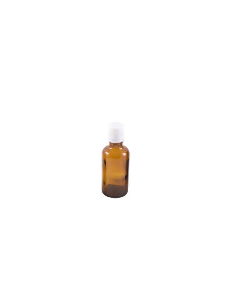 Flacon en verre brun de 500 ml avec compte-gouttes