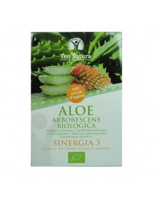 Aloé arborescens Bio au jus d'agave - 750 ml - Teo Natura