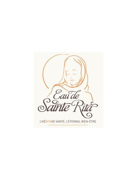 Eau de Sainte Rita avec alcool - Elixir de Bonne Santé depuis le XVème siècle 250 ml