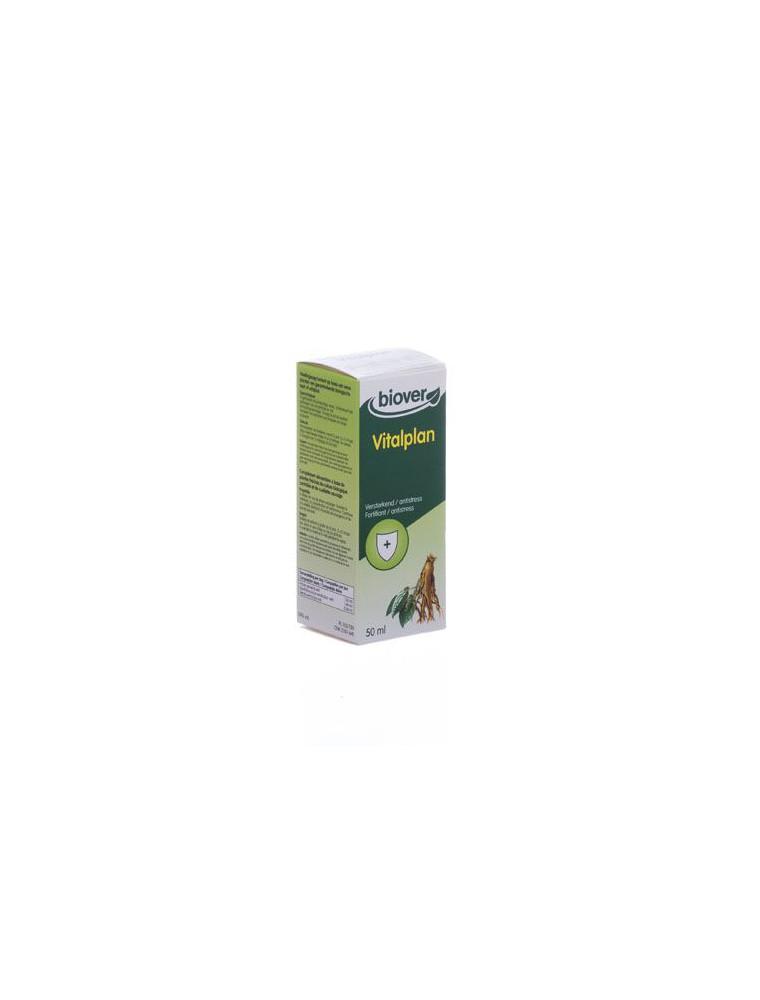 Vitalplan Bio - Gouttes de plantes en cas de stress 50 ml - Biover