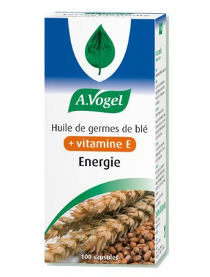 Huile de germe de blé - Vitamine E et protection cellulaire 100 capsules - A.Vogel