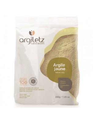 Argile jaune ultra-ventilée - Peaux mixtes 200 grammes - Argiletz