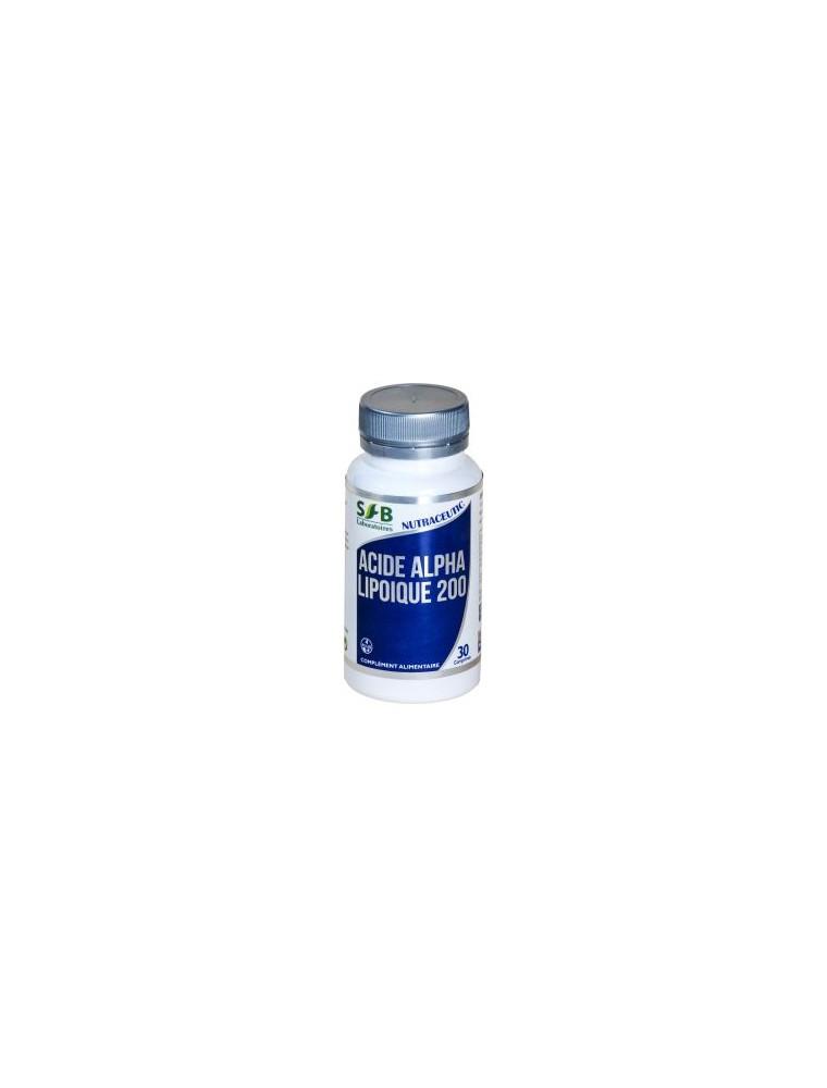 Acide Alpha Lipoïque 200 mg - Antioxydant 30 comprimés - SFB Laboratoires