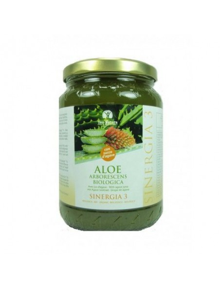 Aloé arborescens Bio au jus d'agave - 500 ml - Teo Natura