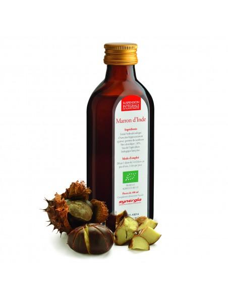 Marron d'Inde Bio - Suspension Intégrale de Plante Fraîche (SIPF) 100 ml - Synergia