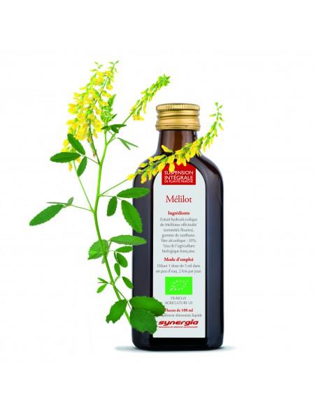 Mélilot Bio - Suspension Intégrale de Plante Fraîche (SIPF) 100 ml - Synergia