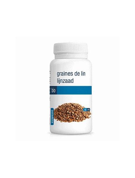 Graines de Lin Bio - Transit 90 gélules - Purasana