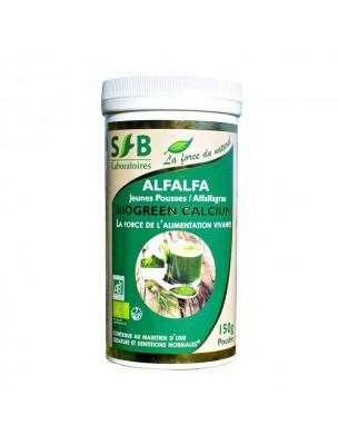 Alfalfa Bio en poudre  - Antioxydant et Acidité 150 g - SFB Laboratoires