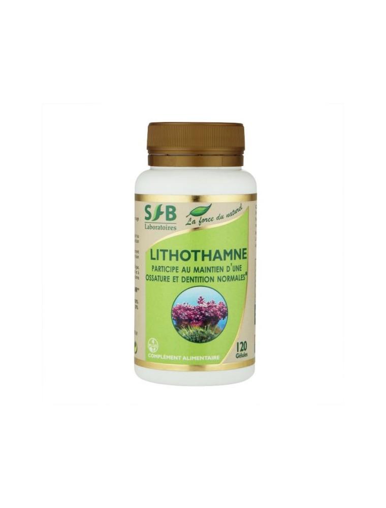 Lithothamne - Ossature et Dentition normales 120 gélules - SFB Laboratoires