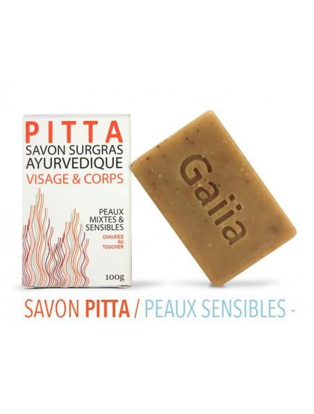 Pitta Savon Ayurvédique - Peaux mixtes 100 g - Gaiia