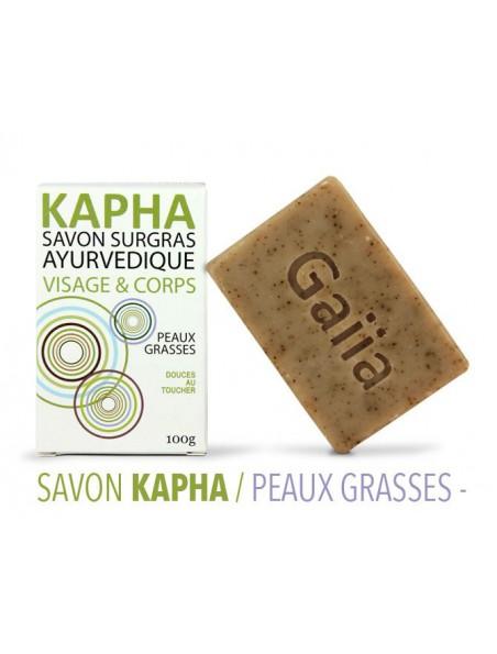 Kapha Savon Ayurvédique - Peaux grasses 100 g - Gaiia