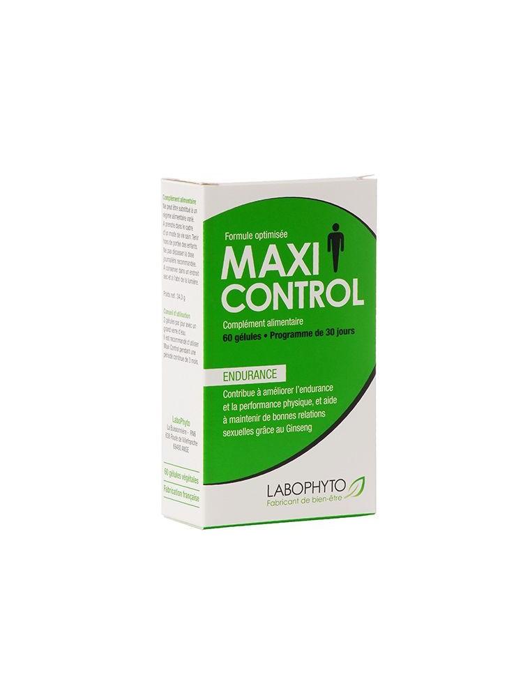 Maxi Control - Endurance et performance masculine naturelle 60 gélules - LaboPhyto