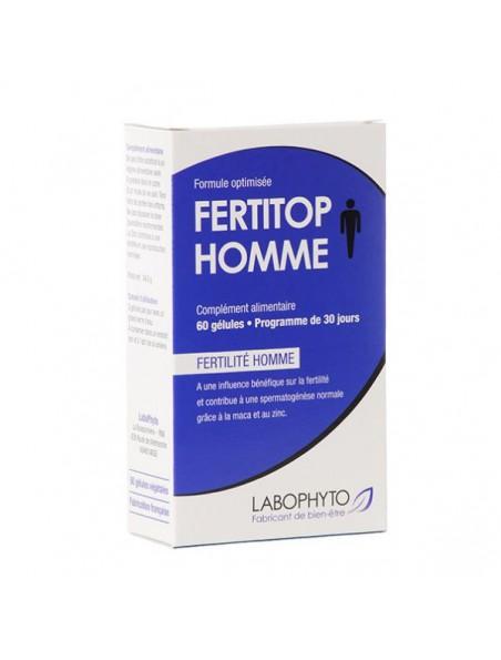 FertiTop Homme - Fertilité chez l'Homme 60 gélules - LaboPhyto