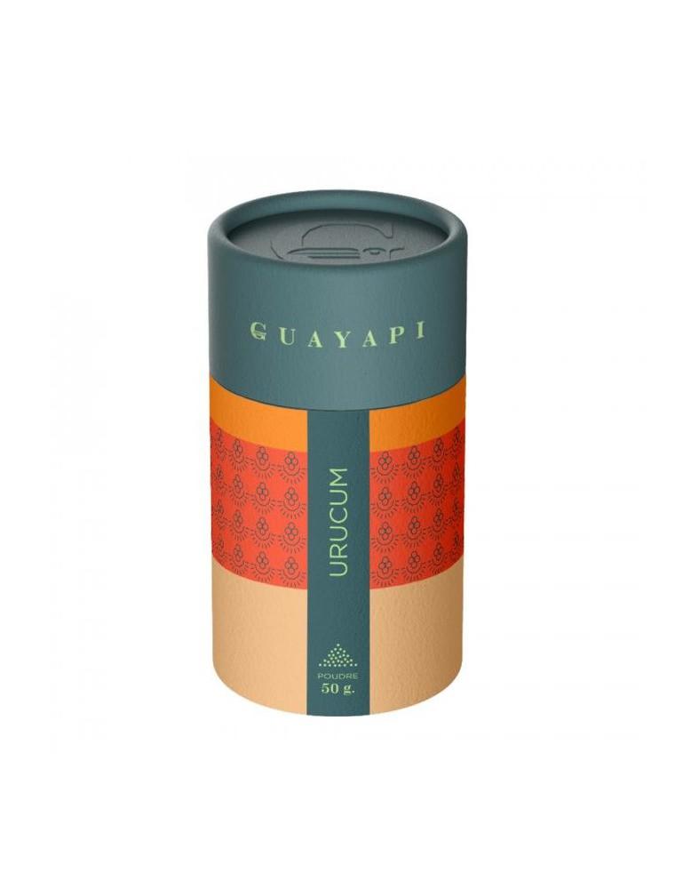 Urucum (Roucou) - Préparation de la peau au soleil Poudre 50g - Guayapi
