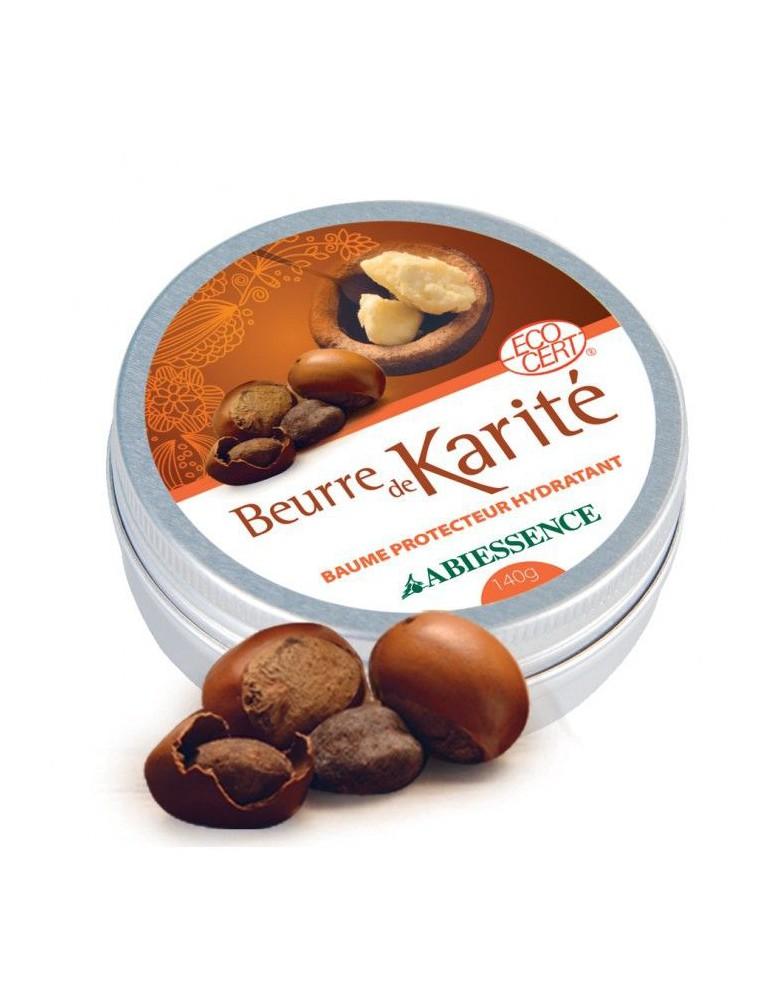 Beurre de Karité Bio - Baume Protecteur Hydratant 140g - Abiessence