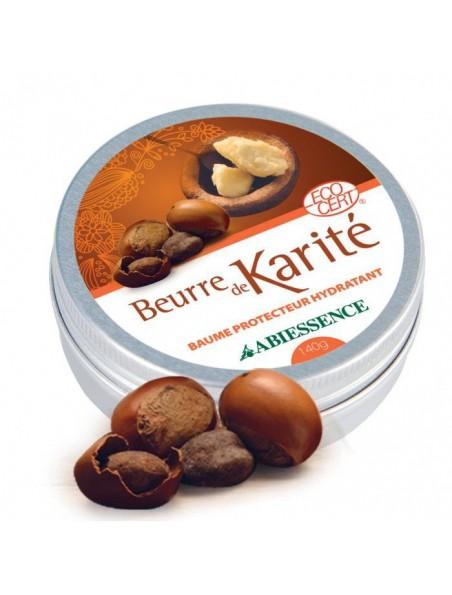Beurre de Karité Bio - Baume Protecteur Hydratant 50g - Abiessence