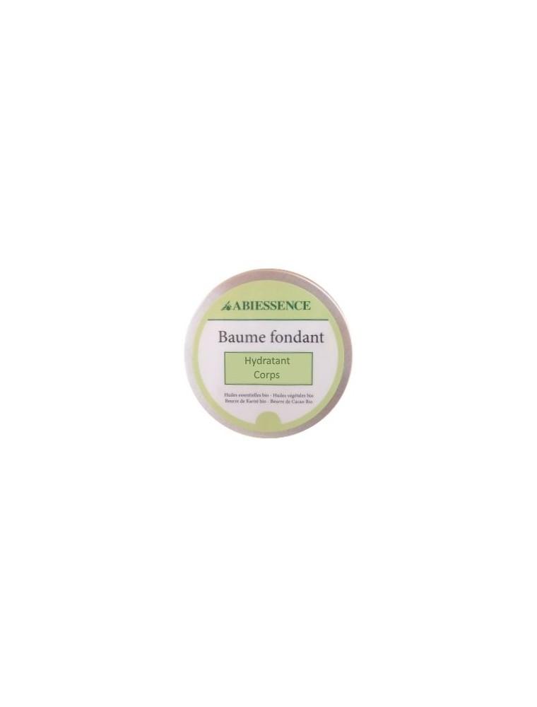 Baume Hydratant Corps Bio - Huiles essentielles et végétales 50g - Abiessence