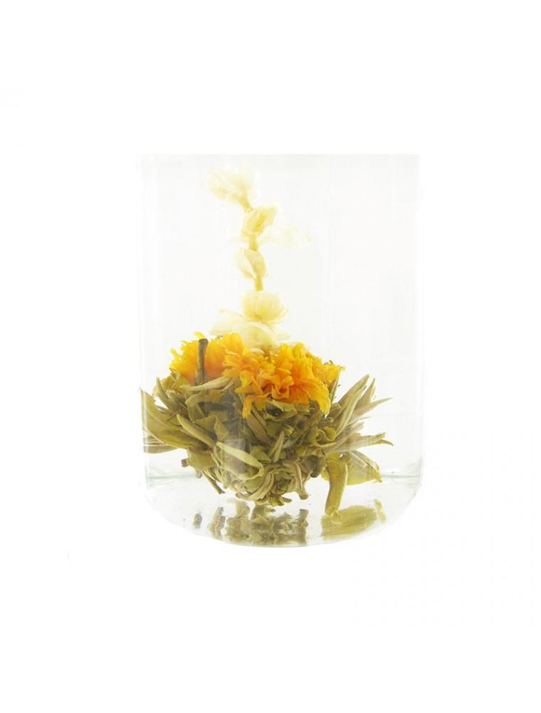 Les Portes du Soleil Fleur de thés - Jasmin, Thé blanc, Souci