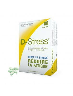 D-Stress - Anti-Stress et Fatigue 80 comprimés - Synergia