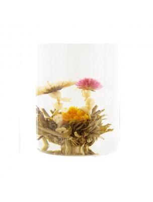 Harmonie Fleur de thés - Chrysanthème, Amarante, Souci, Thé blanc, Jasmin