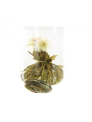 Perle de Rosée Fleur de thés - Chrysanthème, Amarante, Thé vert