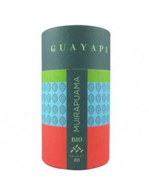 Muirapuama Bio - Tonique sexuel 80 gélules - Guayapi