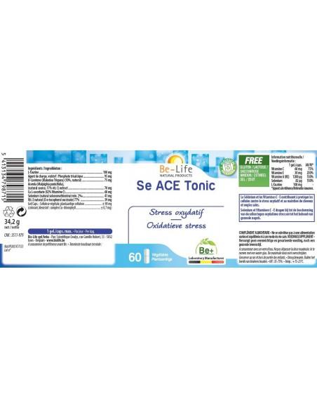 Be-Col 1400 - Levure de Riz rouge Cholestérol 60 gélules - Be-Life
