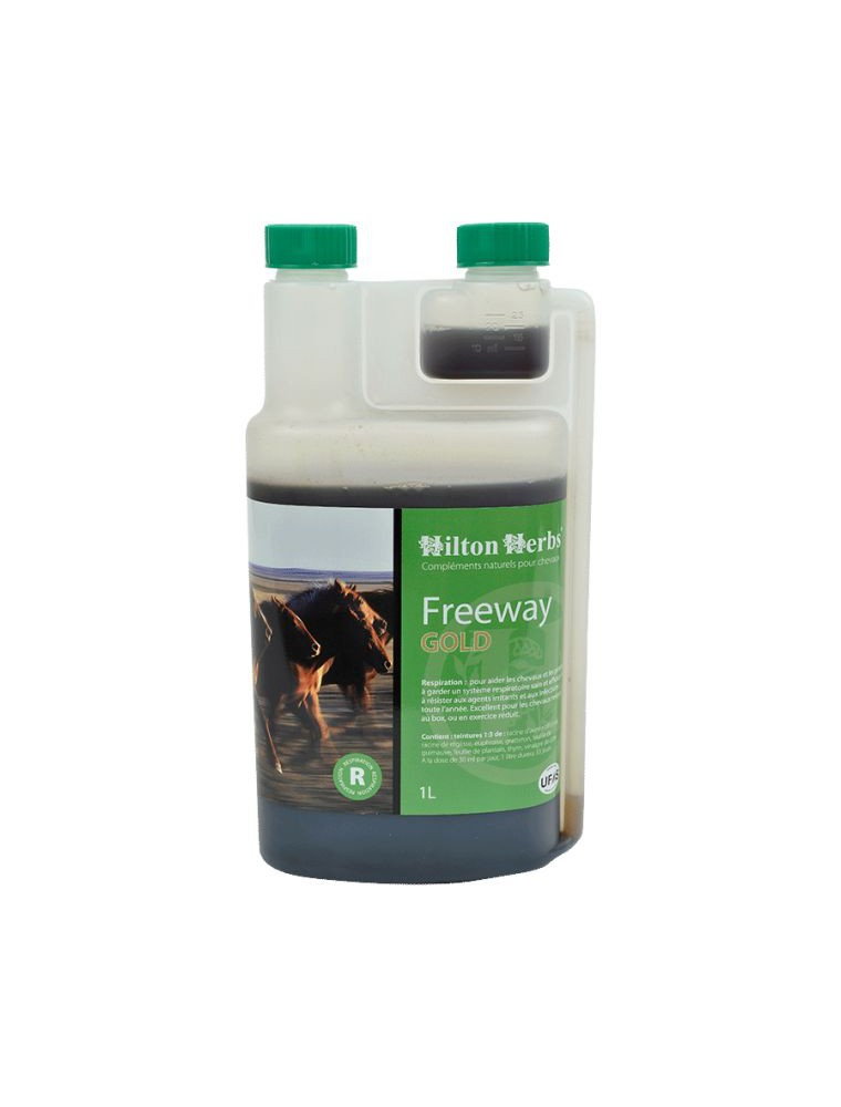 Freeway Gold - Voies respiratoires des chevaux 1 Litre - Hilton Herbs