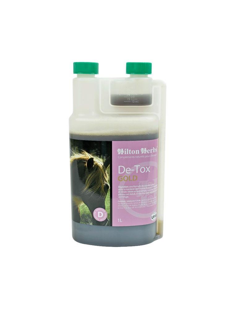De-Tox Gold - Foie & Reins des chevaux 1 Litre - Hilton Herbs