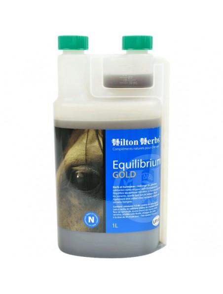 Equilibrium Gold - Nerf & Hormones des chevaux 1 Litre - Hilton Herbs