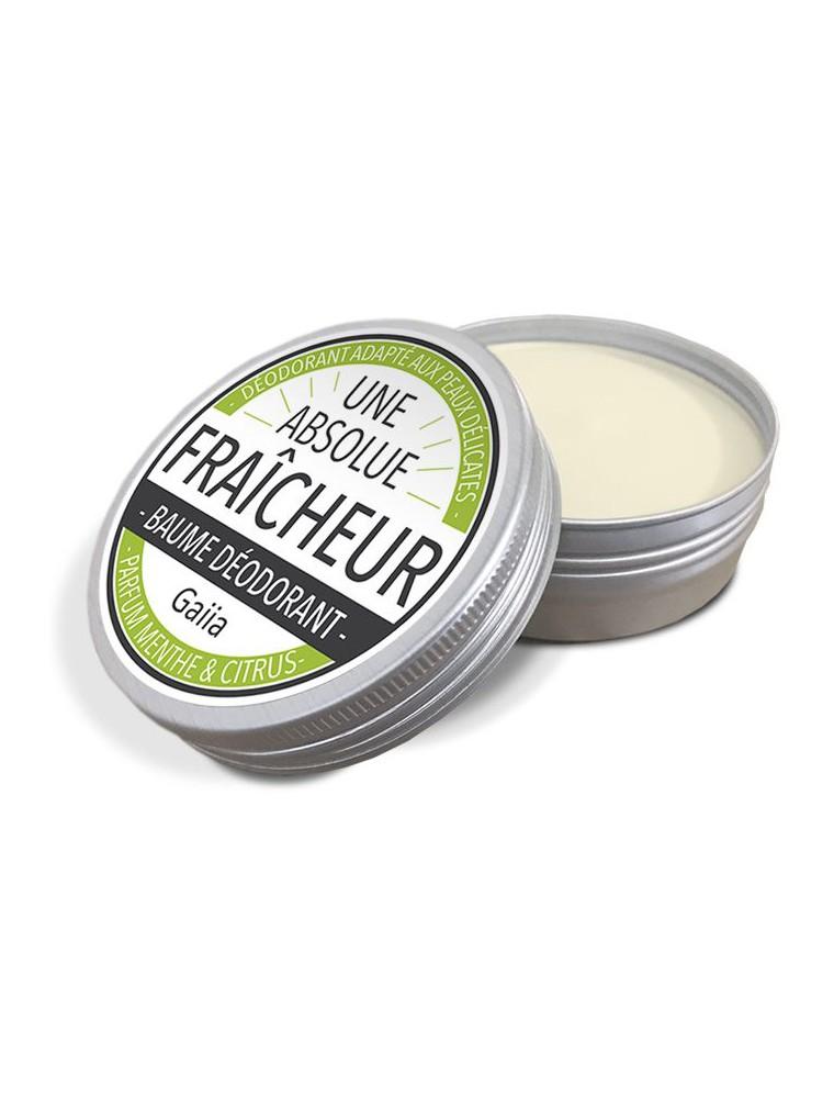 Baume Déodorant Fraîcheur - Menthe & Citron 50 g - Gaiia