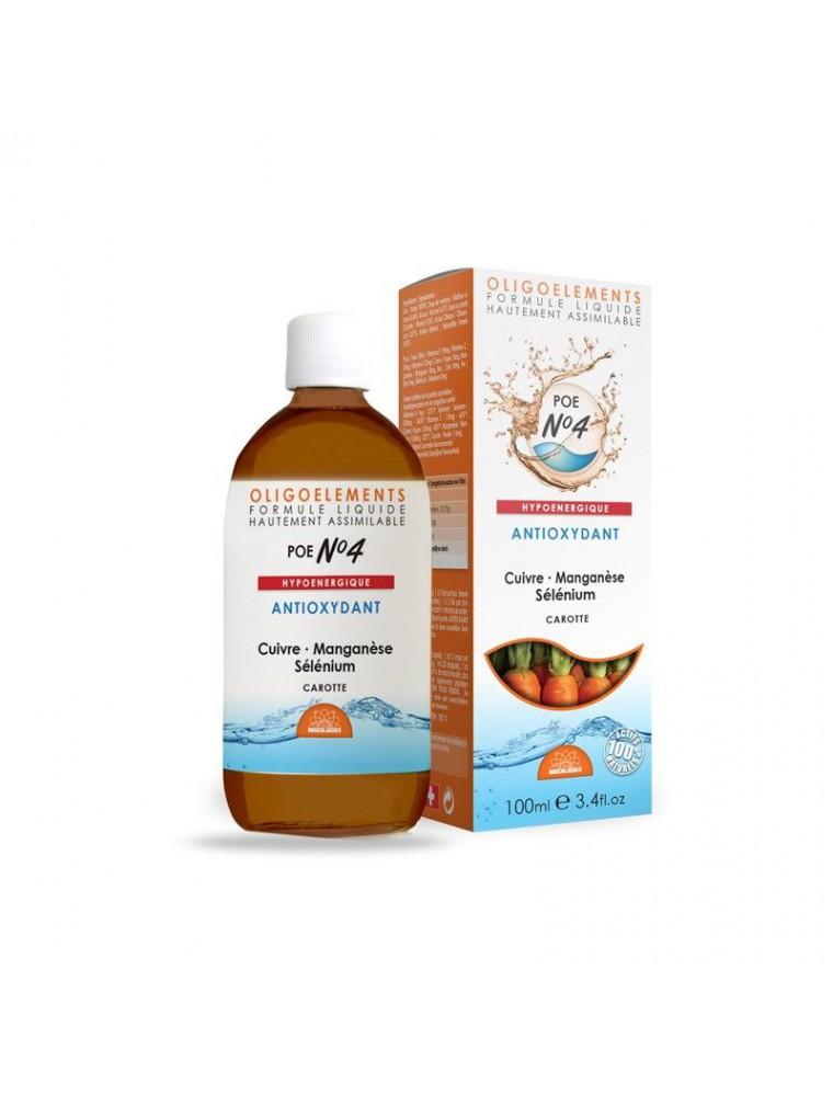POE N°4 Carotte Acérola & Oligo - Antioxydant 100ml - Bioligo