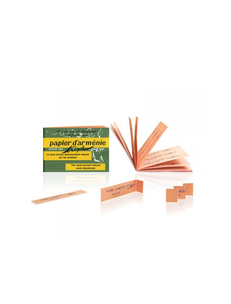 Papier d'Arménie Original - Désodorisant naturel 36 bandes