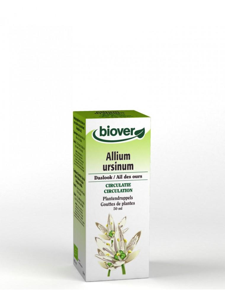 Ail des ours Bio - Circulation Teinture-mère Allium ursinum 50 ml - Biover