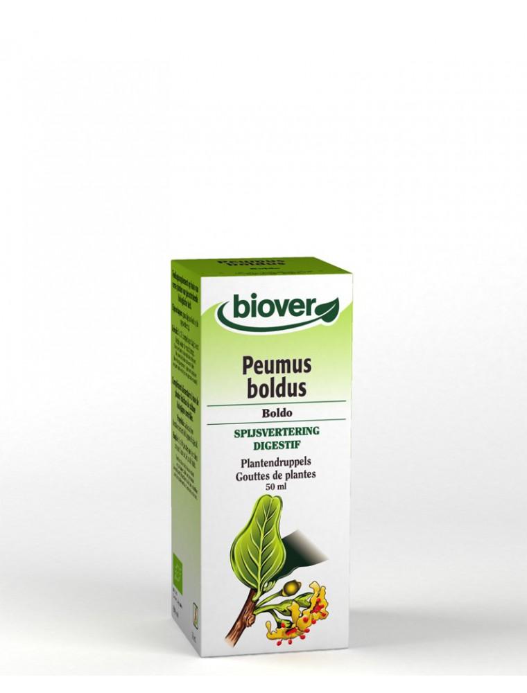 Boldo Bio - Digestion Teinture-mère Peumus boldus 50 ml - Biover