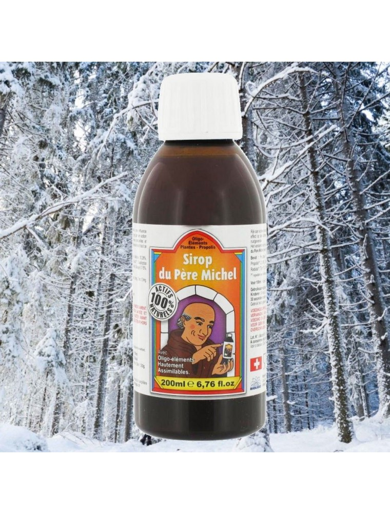 Sirop du Père Michel - Tonus & Vitalité 200 ml - Bioligophyt