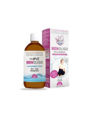 POE N°15 Menoligo - Ménopause 100ml - Bioligo